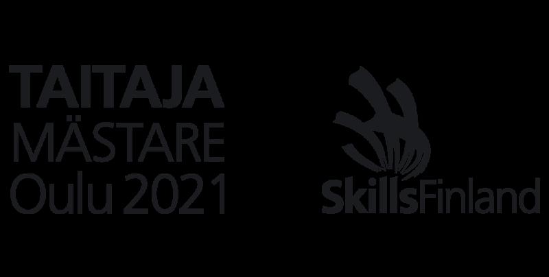 Taitaja2021 Oulun logo. Linkki etusivulle.
