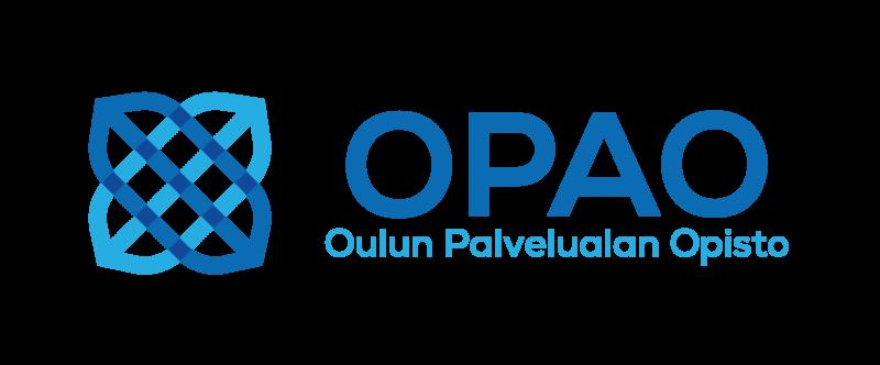 Oulun Palvelualan Opiston logo. Linkki OPAO:n verkkosivuille.